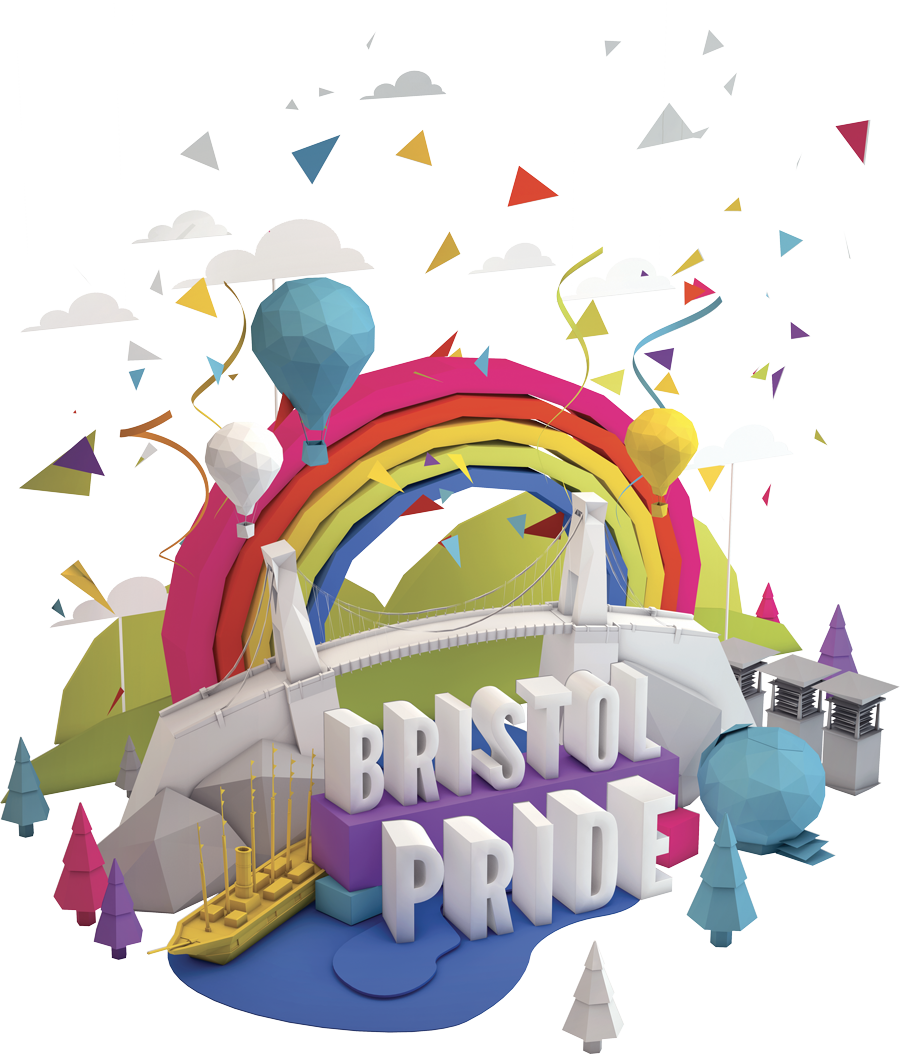 Bristol Pride illustration