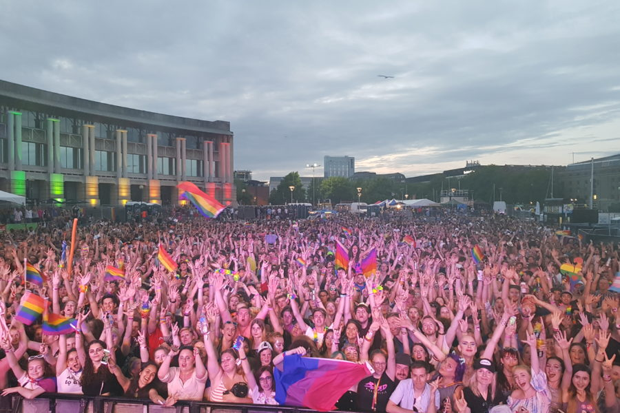 Crowd From Main Stage