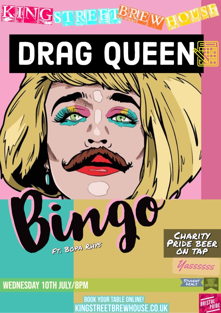 drag queen bingo  king street brewhouse
