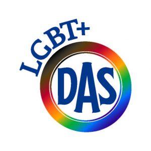 DAS LGBT+ Staff Network Logo