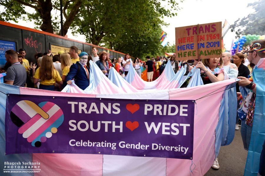 Trans Pride at Bristol Pride 2019