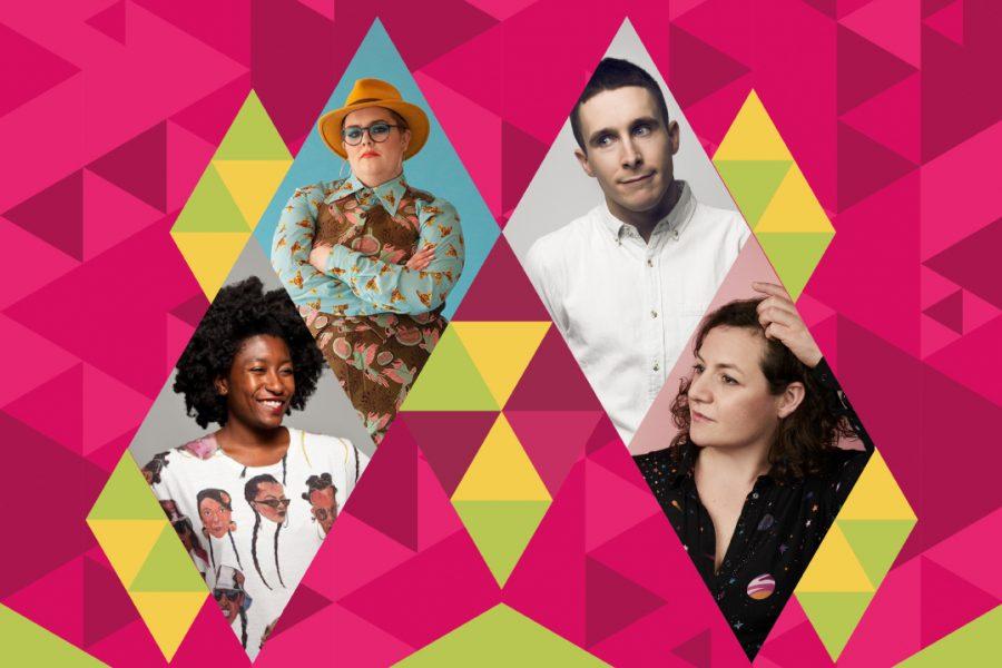 Pride Comedy Night Poster